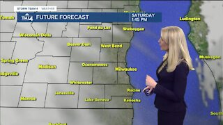 Snow will move in after 8 pm Saturday night