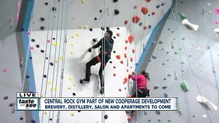 Climbing into something new at Central Rock!