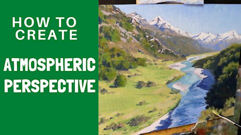 How to Create ATMOSPHERIC PERSPECTIVE