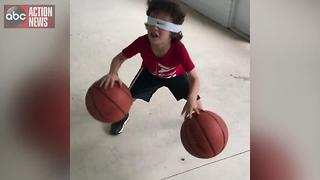 VIDEO | 3 and 5-year-old brothers amaze with basketball skills - Video