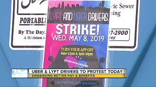 Uber & Lyft drivers to protest Wednesday demanding better pay & benefits