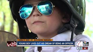 'Captain' Oliver Davis will steal your heart