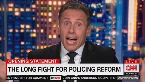 Chris Cuomo Makes Baseless and Disturbing Claim About Police Reform
