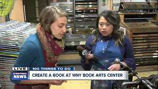 Keeping letter press alive at WNY Book Arts Center - Video