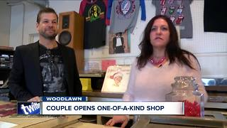 Couple opens a one-of-a-kind store in Woodlawn - Video