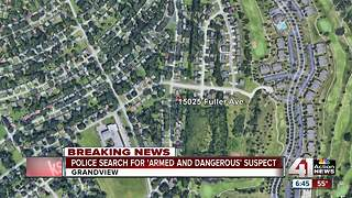 Grandview police search for possibly armed suspects - Video