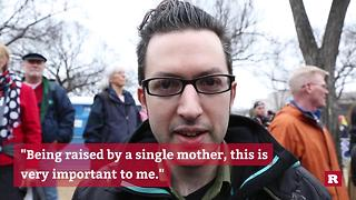 People share why they're participating in D.C.'s Women's March | Rare Media - Video