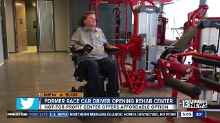 Former race car driver opening rehab center