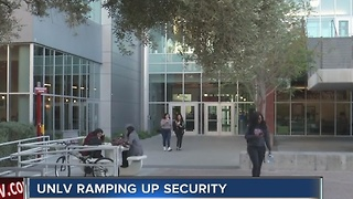 UNLV increases security after Ohio State attack