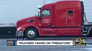 "Truckers taking on ""predators"""