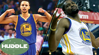 Steph Curry & Kevin Durant Getting BASHED by NBA Old-Schoolers, Is it Fair? -The Huddle - Video