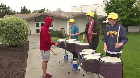 Troopers Drum and Bugle Corps starts training for 2019 Drum Corps International