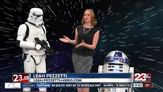 Local groups bring Star Wars characters to Bakersfield - Video