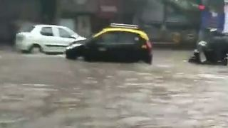 Mumbai Flooding Causes Train Derailment and Widespread Travel Disruption - Video