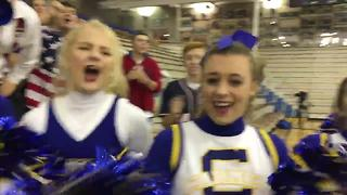 Carmel students chanting RTV6 - Video