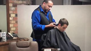 Barber shop helps kids with autism get haircuts | Digital Short - Video