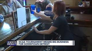 Business expecting NCAA bump - Video