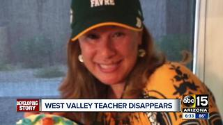 West Valley teacher no where to be found - Video