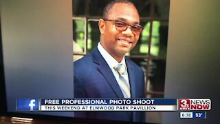 Free professional photo shoot being offered this weekend
