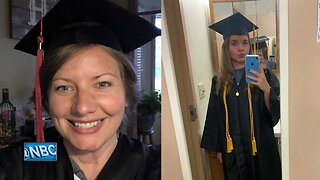 Local mother and daughter graduate together