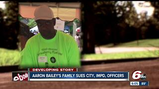 Family of Aaron Bailey sues Indianapolis, IMPD, officers involved in shooting - Video