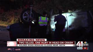Two dead after head-on crash at Holmes and 164th - Video
