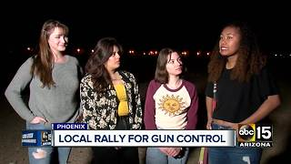 Teens organize 'March for our Lives' rally in Phoenix following mass Florida shooting - Video