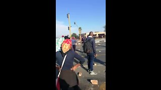 SOUTH AFRICA - Johannesburg - Freedom Park Protest (videos) (7tT)