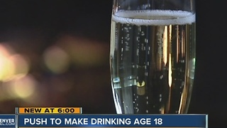 Initiative seeks to lower Colorado's drinking age to 18 - Video