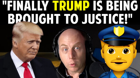 """FINALLY TRUMP IS BEING BROUGHT TO JUSTICE!"""