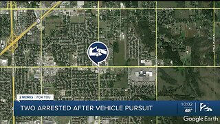 TPD: Two Arrested After Police Chase