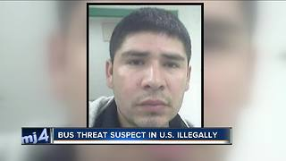 Man who threatened to kill passengers on Greyhound Bus was in United States illegally - Video