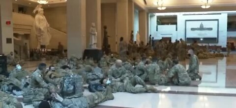National Guard Occupies D.C 20000 to 30000 troops 6 times more than in middle east
