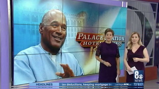Well That Didn't Take Long – OJ Simpson Is Banned from a Vegas Hotel - Video