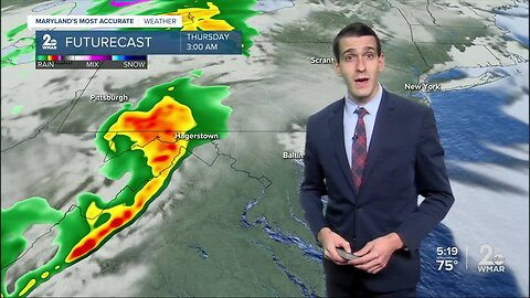 Another Round Of Storms Thursday