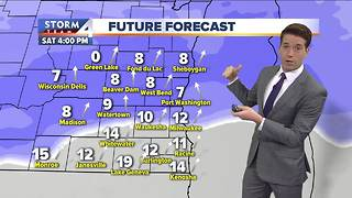 Meteorologist Josh Wurster's Saturday Forecast - Video