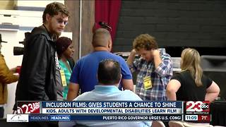 Inclusion Films gives students a chance to shine - Video