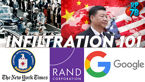 In Plain Sight - Infiltration 101 By Google/Rand/CIA