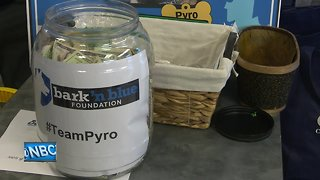 Community comes together to support K-9 Pyro