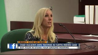 Day 4: Chad Oulson's wife testifies in Curtis Reeves case - Video