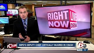 CALL 6: IMPD Deputy Chief James Waters critically injured in crash involving semi - Video