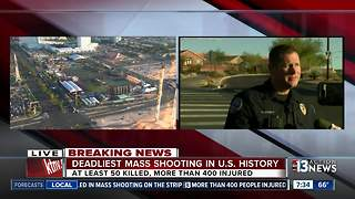 Poiice in Mesquite brief press on Las Vegas shooter - Video