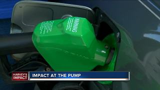Harvey's impact at the pumps - Video