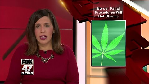 Official: It remains illegal to bring marijuana into US