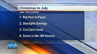 Ask the Expert: Holiday shopping in July - Video