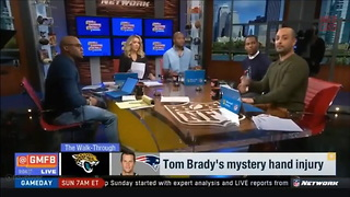 New Report Details The Extent Of Tom Brady's Injury And Which Teammate Caused... - Video