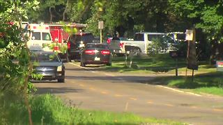 Man barricaded inside Romulus home near Wayne and Wick roads surrenders - Video