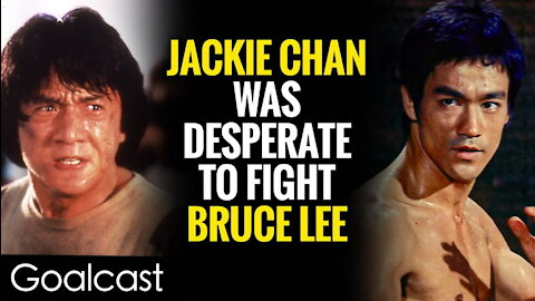 Best Story Ever Jackie Chan Picks A Fight With Bruce Lee | Goalcast