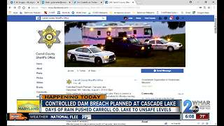 Officials prepare for controlled breach of Cascade Lake Dam - Video