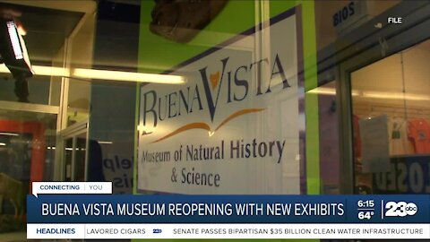 Buena Vista Museum reopening with new exhibits